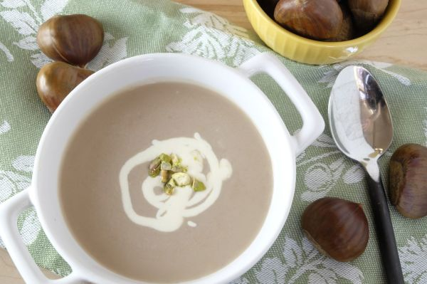Enjoy smooth and creamy chestnut all year round.