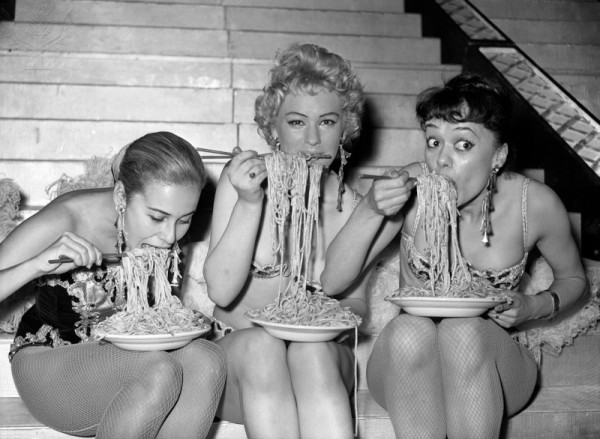 Spaghetti Eating Contest - Soho fair