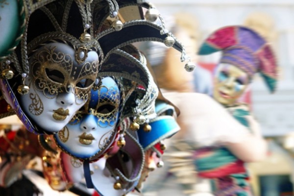 Carnevale in Italy includes masks and merriment in Rome.
