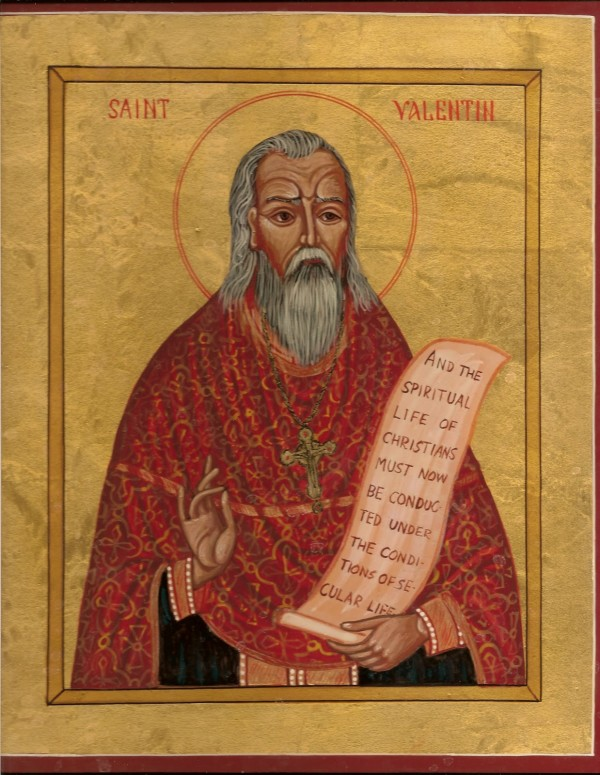 Valentine's Day Italian Style started with Saint Valentine.