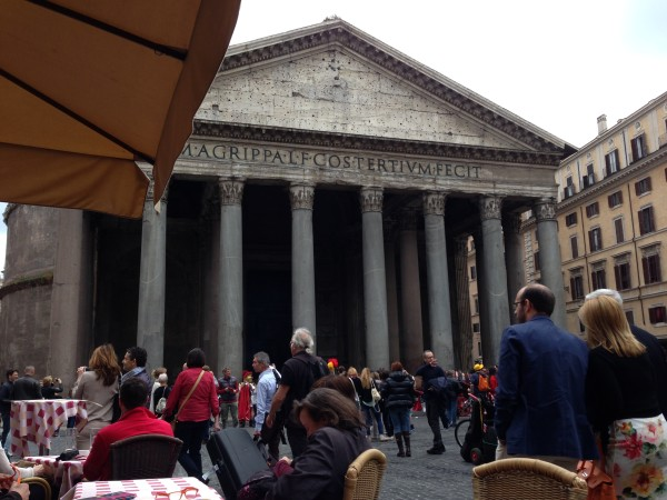 Ten mistakes tourists make in Italy can involve ordering indoors to eat outdoors.