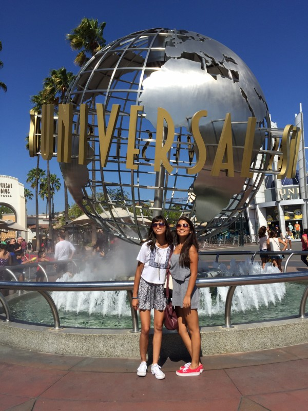 To trip to L.A. is complete without a visit to the Universal Studios Tour.