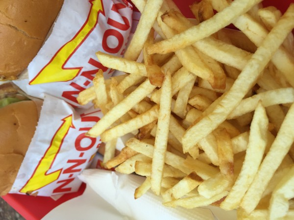 No Los Angeles Eats trip would be complete without a burger from In-N-Out.