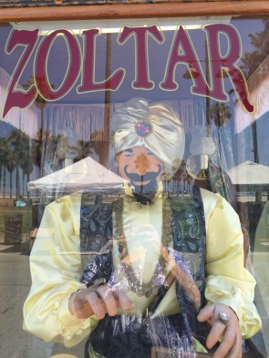 At Venice Beach, Zoltar reigns supreme!