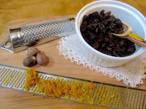 Rice pudding venetian-style gets its taste from nutmeg, raisins and orange zest.
