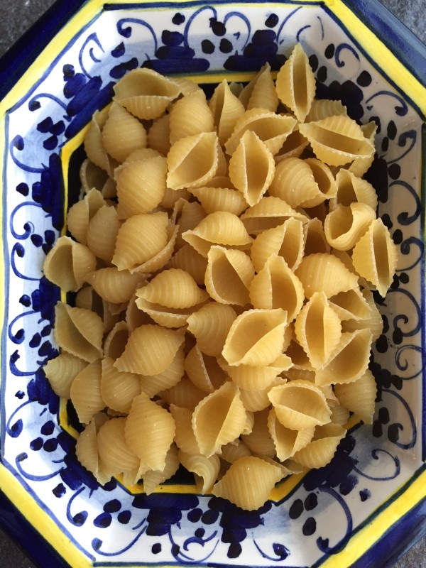 You can use any small pasta you have on hand or take larger pasta like spaghetti and bring them into small pieces.
