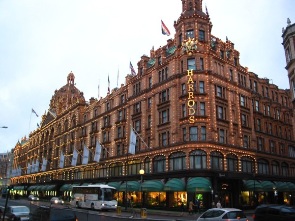Don't forget to visit the Food Halls of Harrod's!