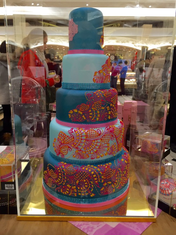 The mother of all wedding cakes.