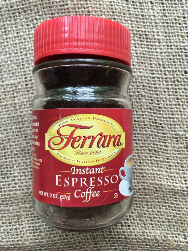 Use this instant espresso for your coffee for your great Italian dessert.