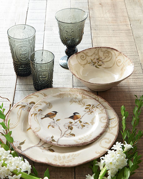 You too can own a beautiful set of Italian ceramics pottery made by Bizzirri.